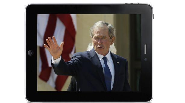 George W. Bush's Life is an Apple Commercial