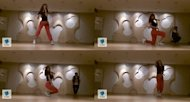 G.Na Sebar Video Latihan Tarinya
