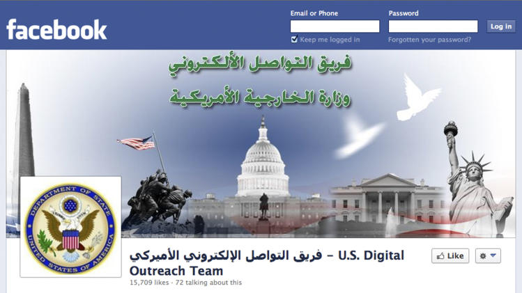 US team using Twitter, Facebook to fight militants