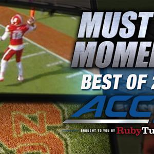 NC State's Brissett Scrambles For TD Pass | Best of 2014 Must See Moment