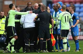 John Carver fined for half-time Newcastle spat
