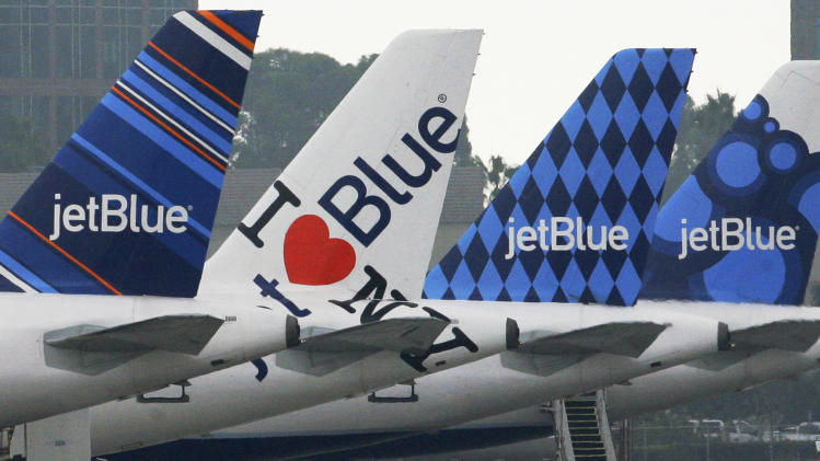 JetBlue profit falls as higher costs crimp sales