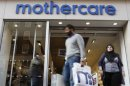 Mothercare Reports £21.7m UK Division Loss