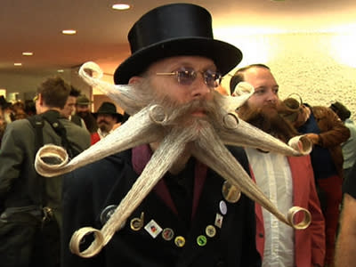 Raw: World Championship of Facial Hair