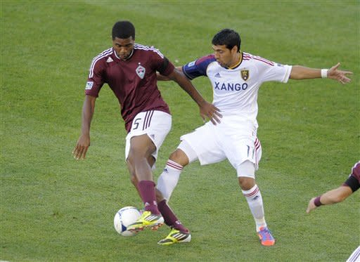 Nane's 1st goal gives Rapids 1-0 victory over RSL