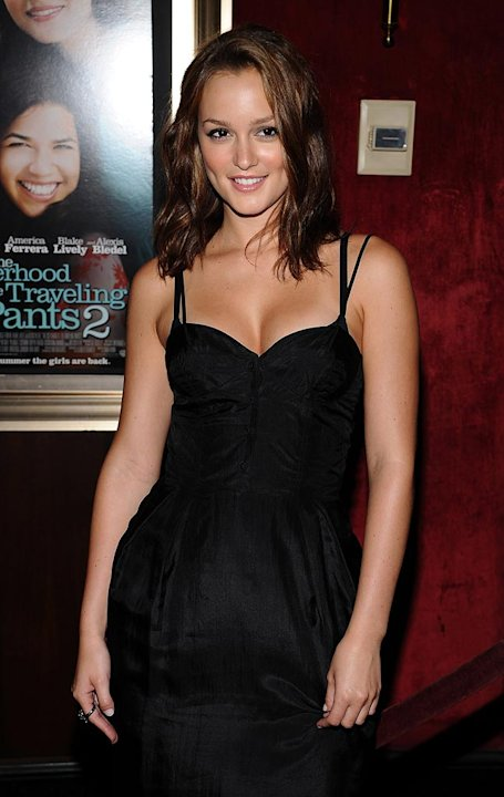 The Sisterhood of the Traveling Pants 2 Premiere 2008 Leighton Meester