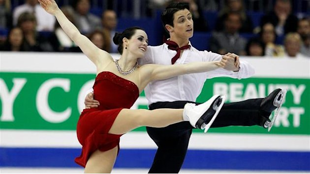 Virtue and Moir win dancing gold in Nice
