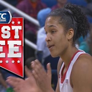 Alyssa Thomas Becomes Maryland's All-Time Leading Scorer | ACC Must See Moment