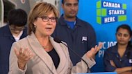 Christy Clark said Wednesday she was not referring to Victoria as a whole in controversial remarks she made about the city.