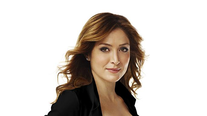 "Sasha Alexander stars in ""Rizzoli and Isles."""