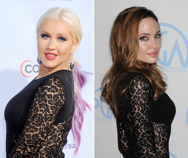 Christina Aguilera VS Angelina Jolie