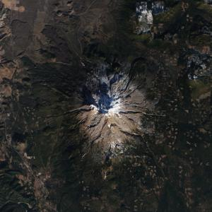 Bare Mount Shasta Reveals California Drought Severity