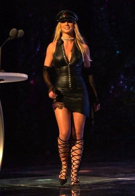 Britney Spears MTV Video Music Awards New York City - 8/29/2002