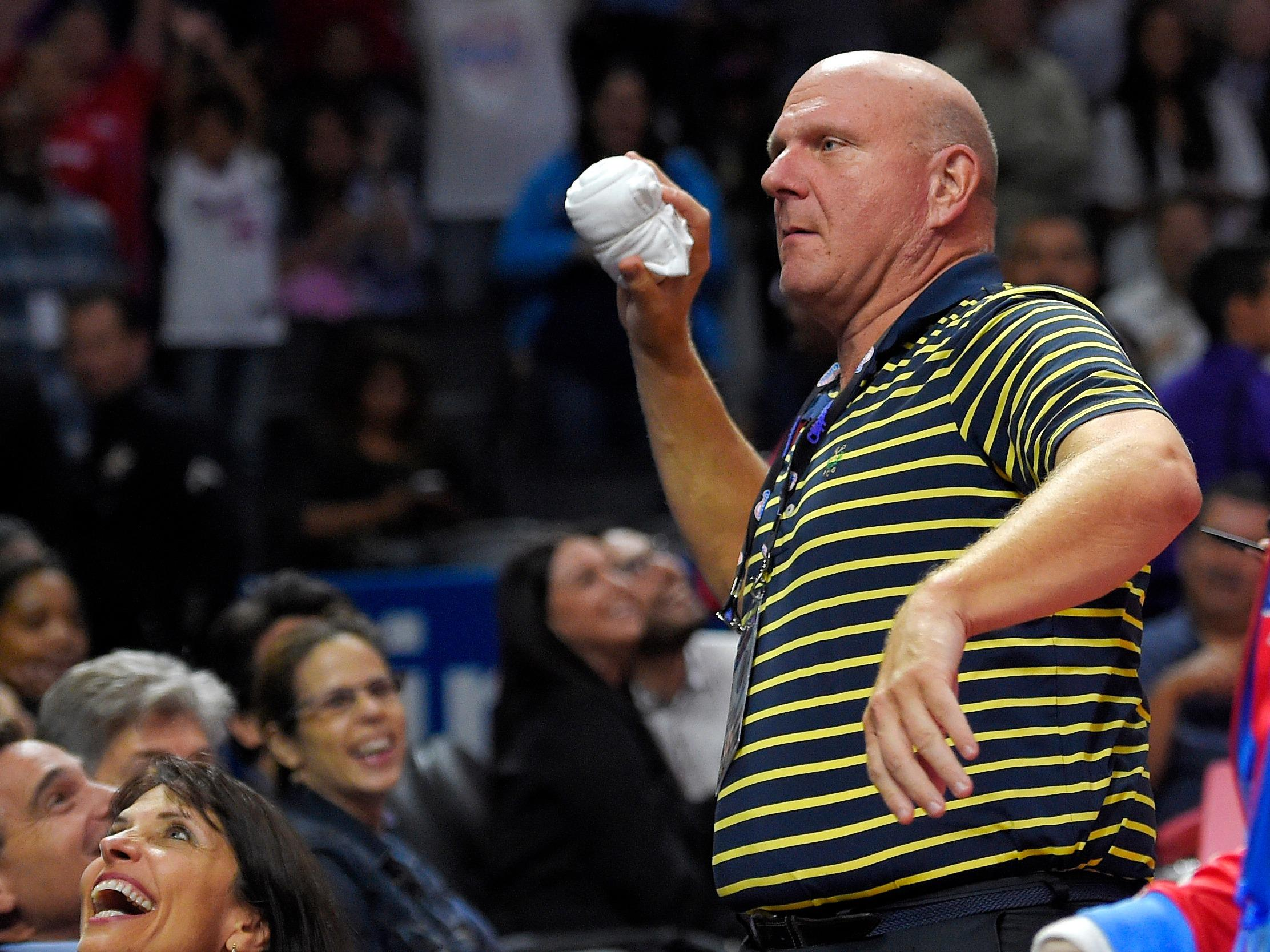 Steve Ballmer reportedly wants to air Clippers games on a new streaming service instead of TV