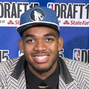 Karl-Anthony Towns, the first 2015 NBA draft pick talks to CBSN