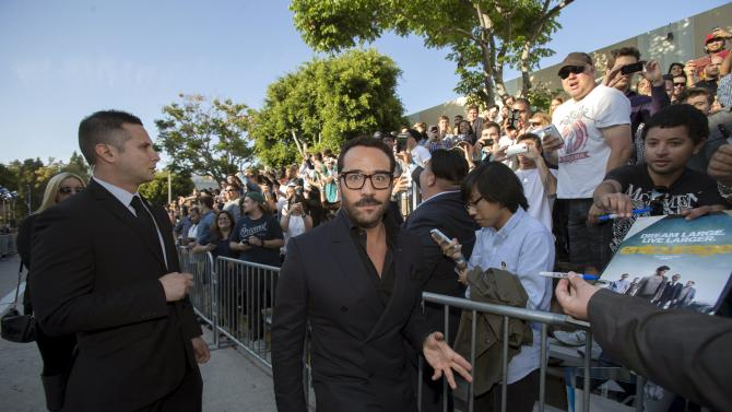 "Cast member Piven arrives at the premiere of ""Entourage"" at the Regency Village theatre in Los Angeles"