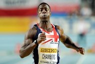 Convicted drugs cheat Dwain Chambers, seen here in March 2012, said he believes his presence at the Olympics this summer should serve as a warning to anyone thinking of doping