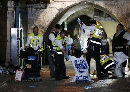 Palestinian stabs Israeli in fresh attack, shot dead: police