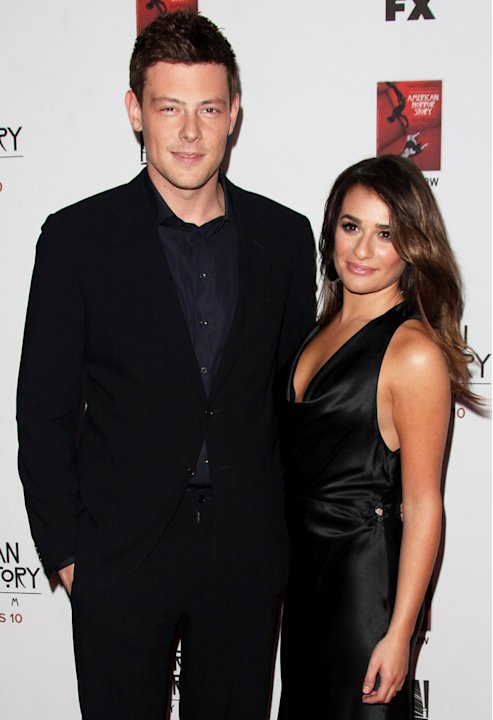 Cory Monteith, Lea Michele