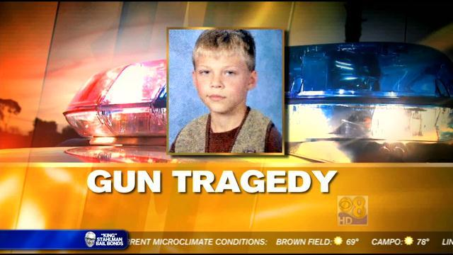 New information on boy who died playing with gun