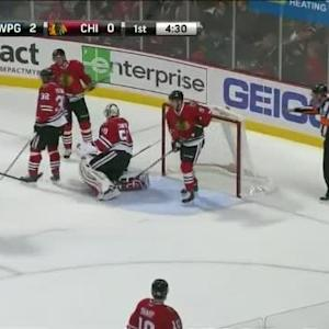 Anthony Peluso Goal on Corey Crawford (15:30/1st)