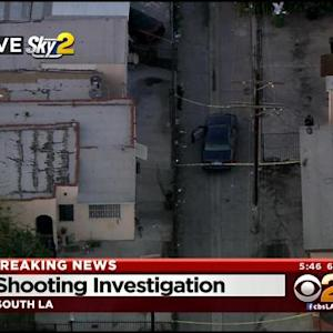 Police Investigate Possible Officer-Involved Shooting In South LA