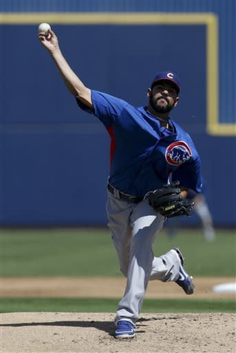 Barney homers as Cubs beat Brewers 4-1