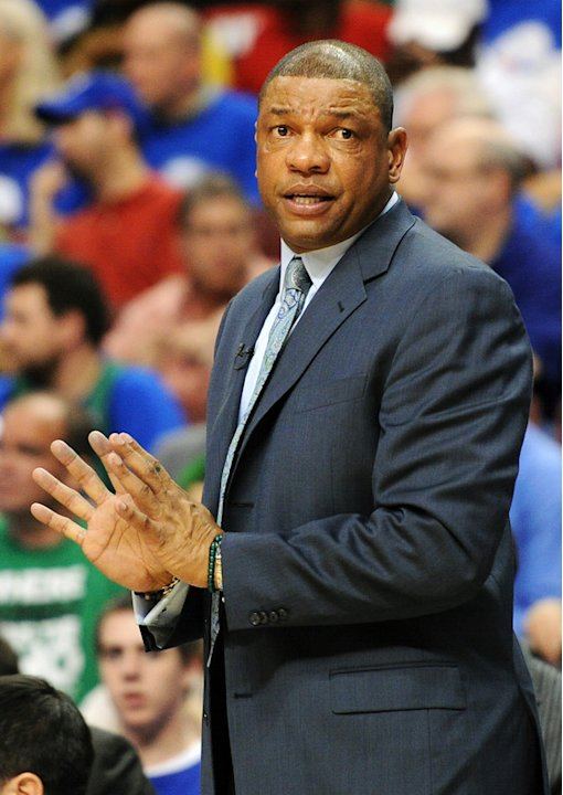Head Coach Doc Rivers Of The Boston Celtics Walks Getty Images