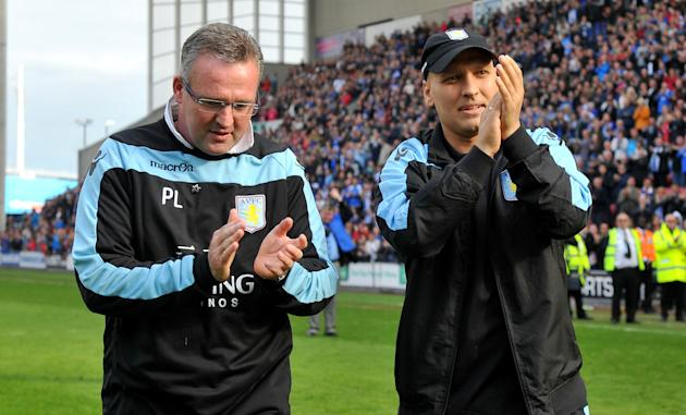 Soccer - Barclays Premier League - Wigan Athletic v Aston Villa - DW Stadium