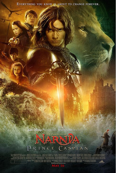 The Chronicles of Narnia Prince Caspian 2008 Walt Disney Pictures Poster