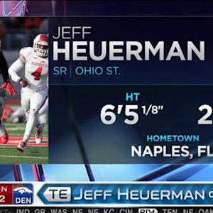Denver Broncos pick tight end Jeff Heuerman No. 92 in 2015 NFL Draft
