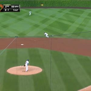 Russell's diving stop