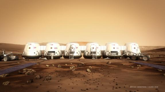 Life on Mars: How a One-Way Martian Colony Project Could Work