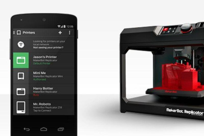 MakerBot Android app lets you control your 3D printer from your phone