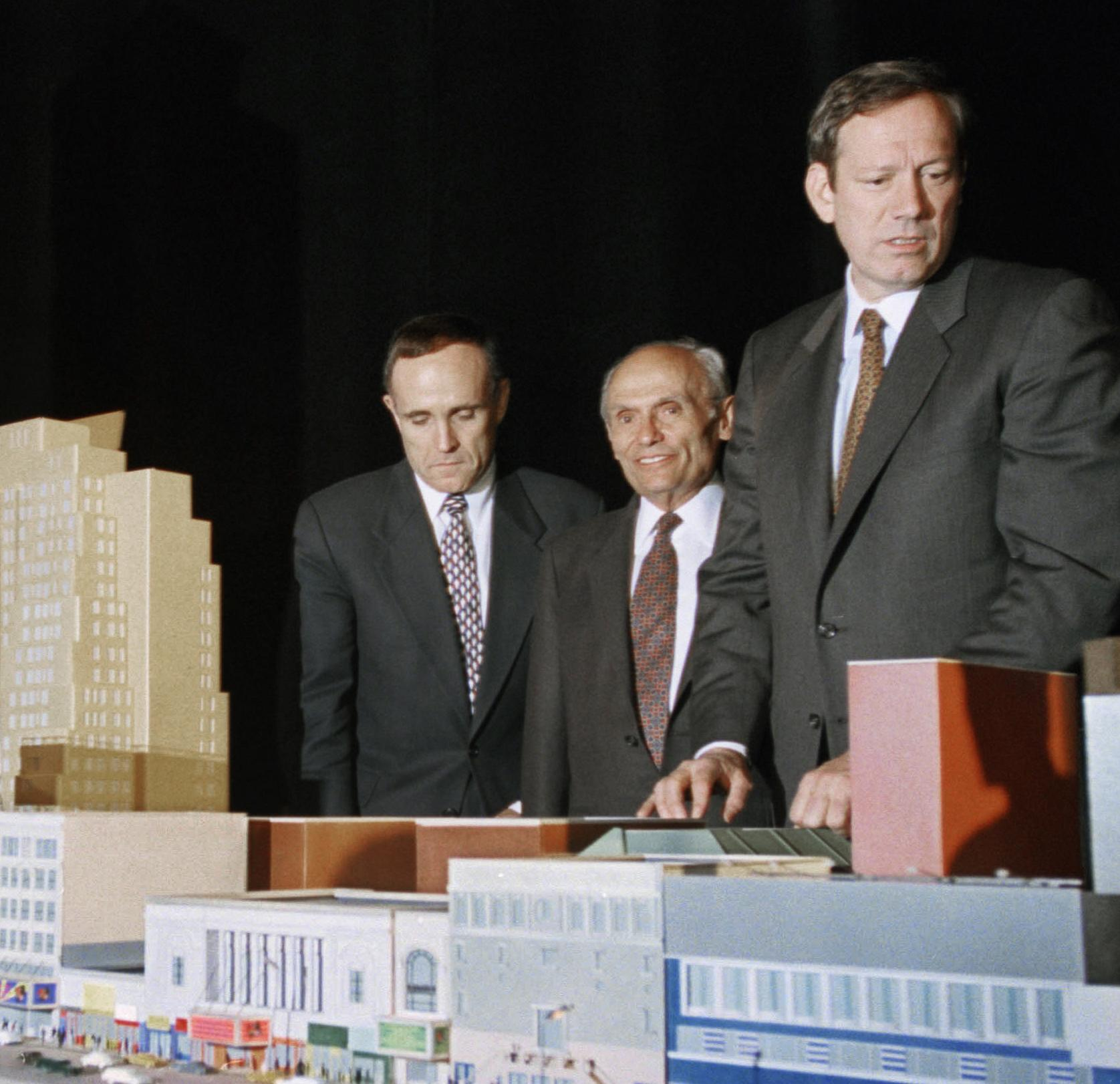 New York real estate developer John Tishman dies at age 90