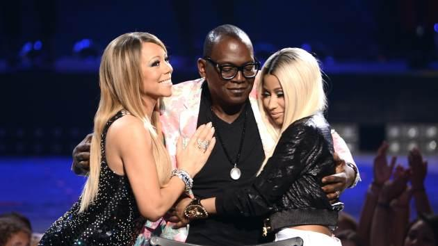 'American Idol' judges Mariah Carey, Randy Jackson and Nicki Minaj are seen onstage during 'American Idol' 2013 Finale Results Show at Nokia Theatre L.A. Live on May 16, 2013 in Los Angeles -- Getty Images