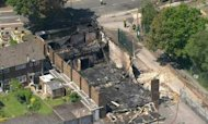 London Mosque Fire: Police Investigate Cause