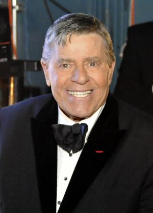 """FILE - In this Feb. 22, 2009 file photo, Jerry Lewis is seen backstage at the 81st Academy Awards in the Hollywood section of Los Angeles. The Muscular Dystrophy Foundation Australia said the comedian's show Friday night June 23, 2011, in Sydney had to be canceled   Foundation CEO David Jack apologized in a statement, saying the 85-year-old was """"not well enough to take the stage."""" (AP Photo/Chris Carlson, file)"""