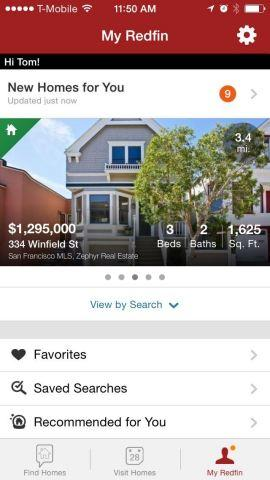 Redfin Launches Completely Redesigned Real Estate App for iPhone