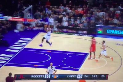 James Harden decided arguing with a referee was more important than playing defense