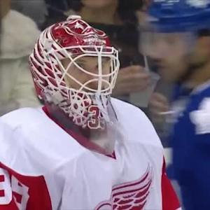 Jimmy Howard Save on Cody Franson (07:19/2nd)