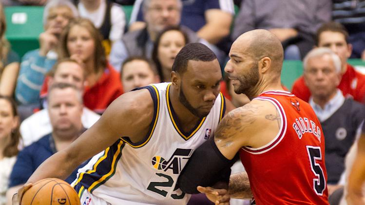 NBA: Chicago Bulls at Utah Jazz