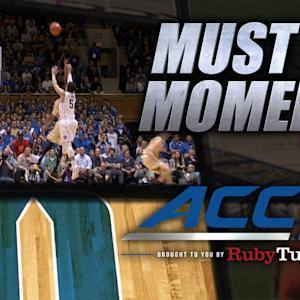 Duke's Tyus Jones' Crazy Buzzer-Beating 4-Point Play | ACC Must See Moment