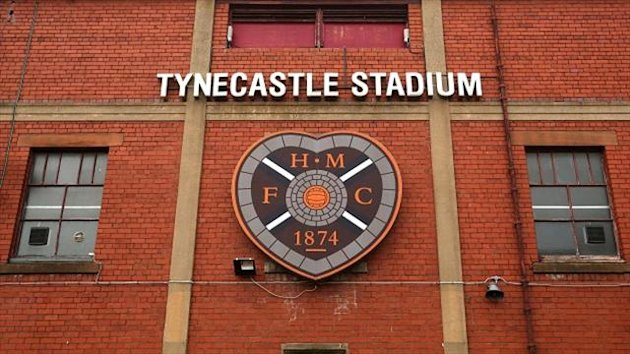 Hearts' ground Tynecastle (PA)
