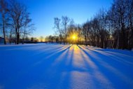 The winter solstice marks the shortest day of the year, when the sun is at its lowest point in the sky.