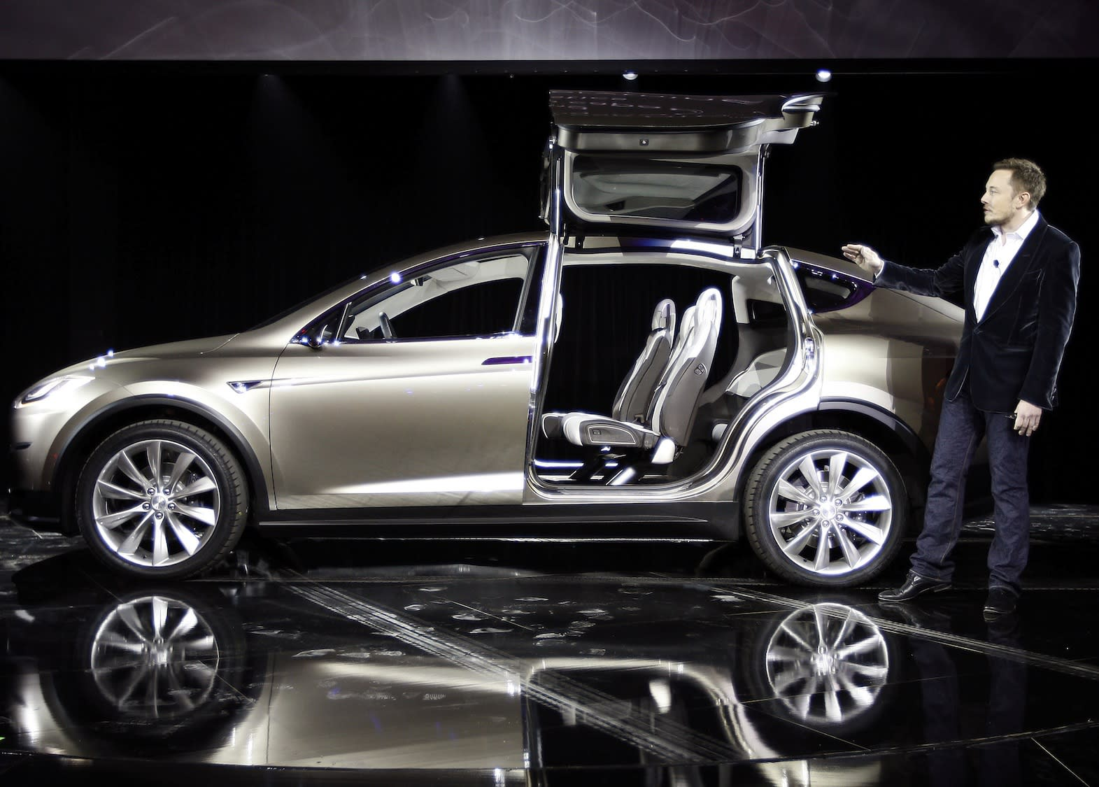 Tesla: We aren't a giant car company and could get crushed