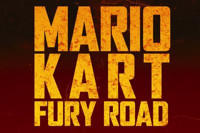 When Mario Kart meets Mad Max, Charlize Theron makes the best Princess Peach ever