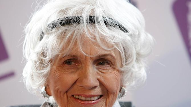 Alice Munro says she is 'probably' done writing