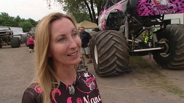 Newest Monster Truck Drivers: Moms (ABC News)