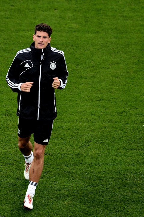 Germany's Forward Mario Gomez …